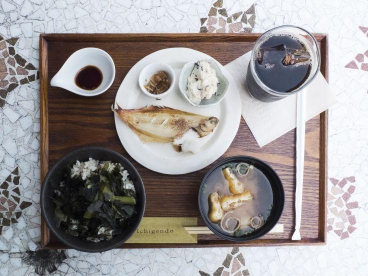 ichigendo朝食